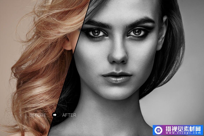 时装系列LR预设人像Lightroom预设fashion collection lr presets插图5